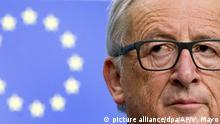 EU-Kommissionspräsident Jean-Claude Juncker (picture alliance/dpa/AP/V. Mayo)