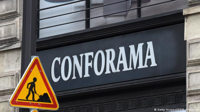 Conforama Steinhoff store in Paris