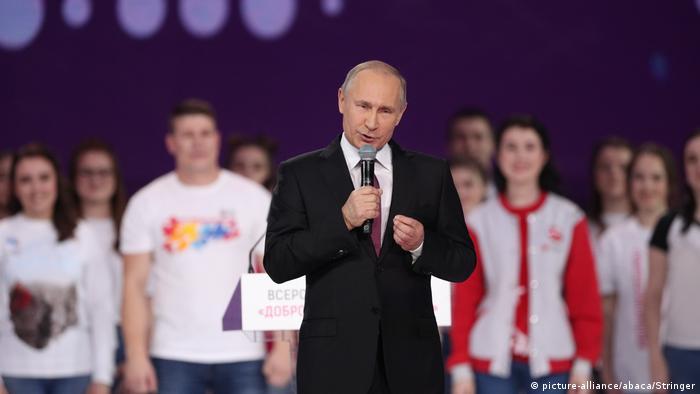 Wladimir Putin bei Rede