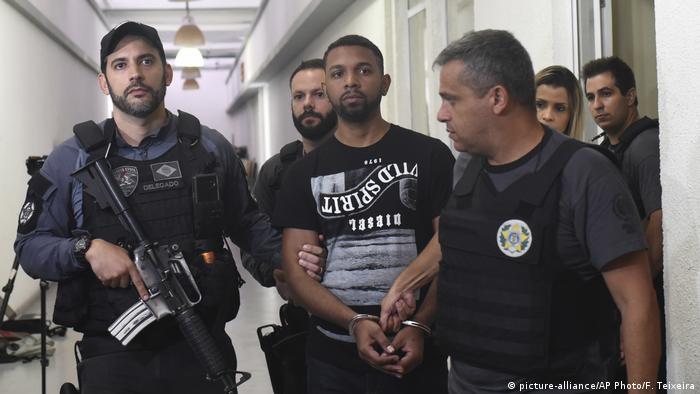 Brazilian drug lord Rogerio Avelino da Silva, better known as Rogerio 157 arrested