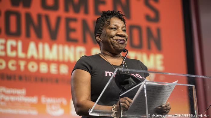 USA Tarana Burke (picture-alliance/ZUMAPRESS.com/J. Han)