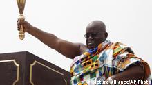Ghana Accra Präsident Nana Akufo-Addo