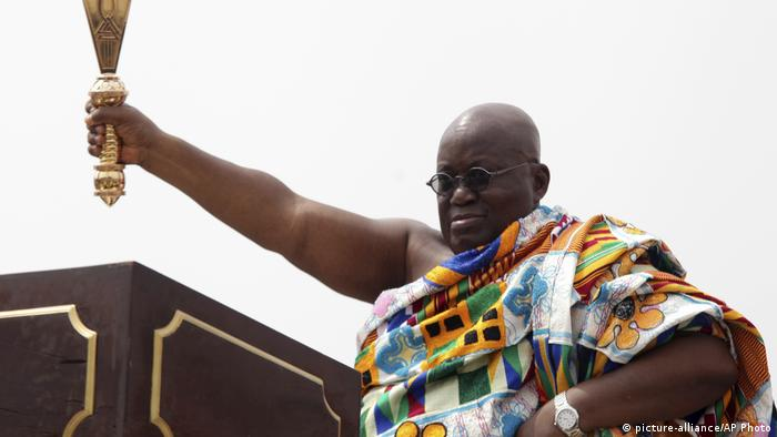 Ghana Accra Präsident Nana Akufo-Addo (picture-alliance/AP Photo)