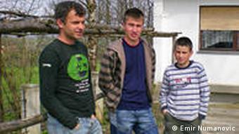 Unemployed youth in Bosnia