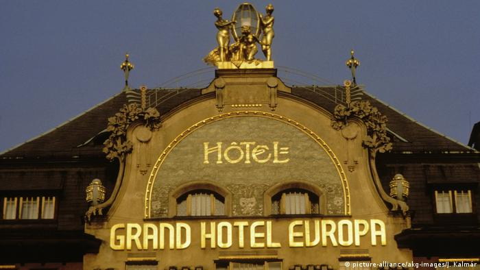 Tchechien Grandhotel Europa in Prag (picture-alliance/akg-images/J. Kalmár)