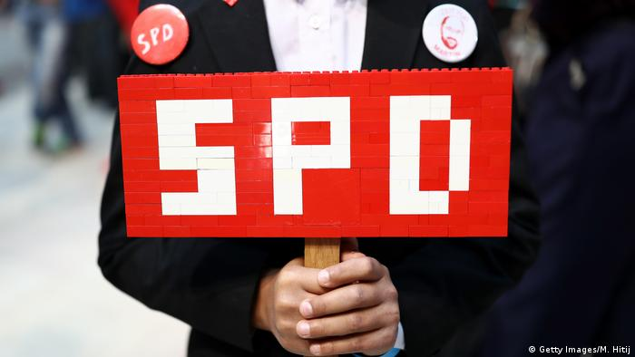 Symbolbild SPD (Getty Images/M. Hitij)