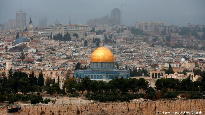 Мечеть Купол скалы в Старом городе Иерусалима