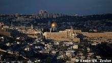 06.12.2017 A general view of Jerusalem shows the Dome of the Rock, located in Jerusalem's Old City on the compound known to Muslims as Noble Sanctuary and to Jews as Temple Mount December 6, 2017. REUTERS/Ronen Zvulun