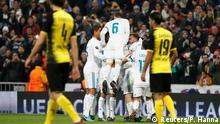 Fußball UEFA Champions League - Real Madrid vs Borussia Dortmund