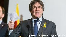 Belgien Brüssel Pressekonferenz Carles Puigdemont