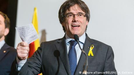 Карлес Пучдемон запевняє, що зможе керувати урядом Каталонії на відстані