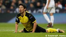 UEFA Champions League 6. Spieltag | Real Madrid vs. Borussia Dortmund | Kagawa