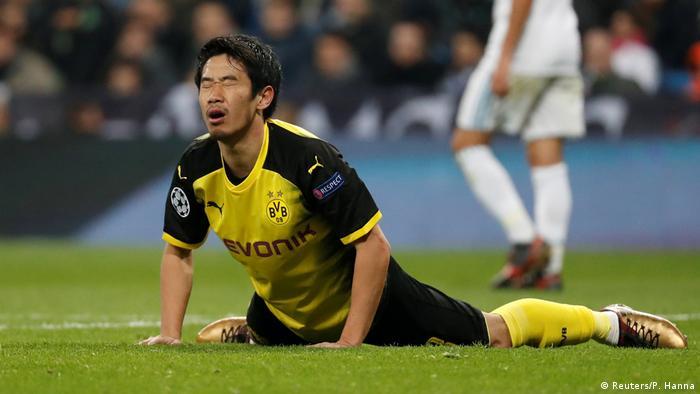 UEFA Champions League 6. Spieltag   Real Madrid vs. Borussia Dortmund   Kagawa