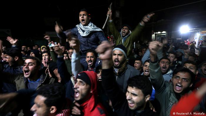 Filistinliler: ABD bölgede şiddet istemiyorsa kararından dönsün