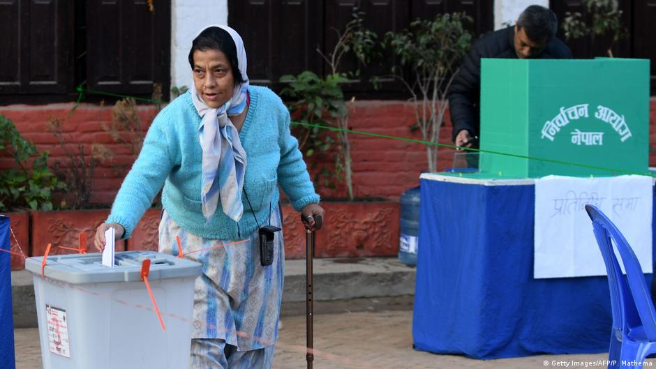 Nepal votes in first parliamen...