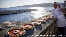 Weltkulturerbe UNESCO - Italien Pizza aus Neapel