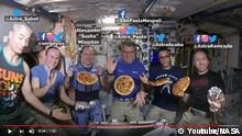 Screenshot Youtube Nasa Pizza Night on the Space Station