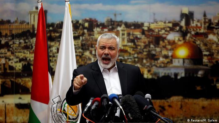 Gaza - Reaktion auf Jerusalem-Status von Hamas Chef Ismail Haniyeh