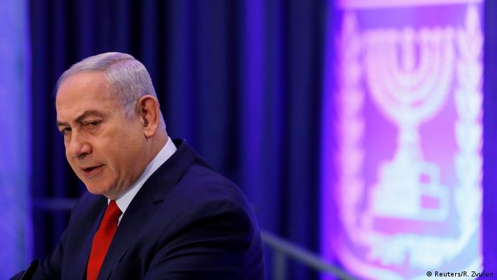 Israel PK Ministerpräsident Benjamin Netanyahu in Jerusalem (Reuters/R. Zvulun)