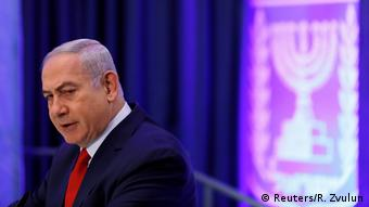 Benjamin Netanyahu in Jerusalem (Reuters/R. Zvulun)