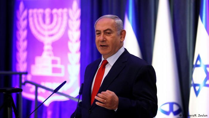 Benjamin Netanyahu en Jerusalem (Reuters/R. Zvulun)