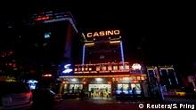 A Chinese Restaurant, Hotel and Casino was seen at the Preah Sihanoukville province, Cambodia September 27, 2017. Picture taken on September 27, 2017. REUTERS/Samrang Pring To match Feature CAMBODIA-POLITICS/CHINA
