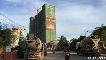 Kambodscha chinesiche Investitionen in Tourismus in der Provinz Sihanoukville