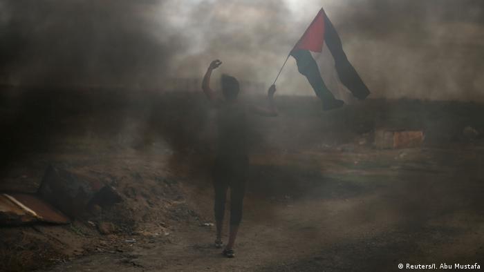 Gaza Protest gegen Trumps Entscheidung zu Jerusalem (Reuters/I. Abu Mustafa)