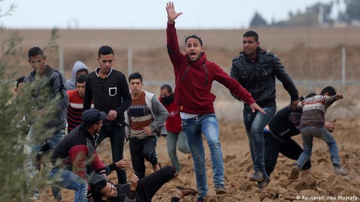 Gaza - Proteste gegen Jerusalem-Status