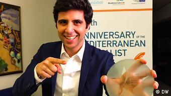 Jaafar Abdul Karim erhält Mediterranean Journalist Award 2017 für Shababalk in der Kategorie Radio und TV