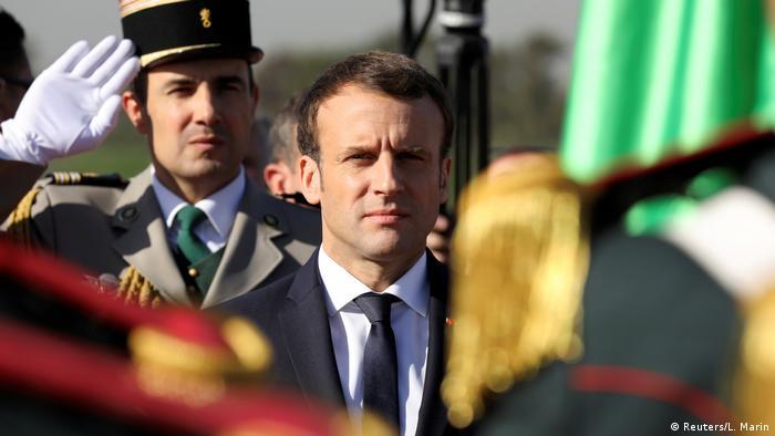Algerien - Präsident Macron in Algiers