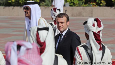 Макрон у Катарі домовився про бізнес-угоди на 12 мільярдів євро