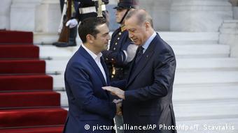 Griechenland Erdogan zu Besuch in Athen