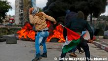 West Bank - Proteste gegen Jerusalem-Status