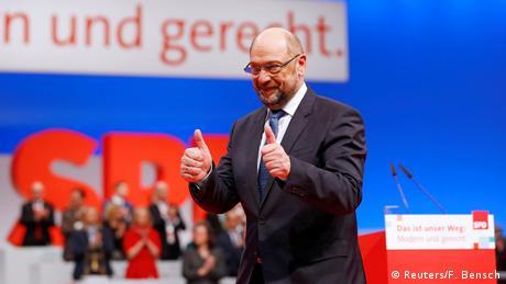 Συνέδριο SPD: Ο Σουλτς ζητά πράσινο φως για διαπραγματεύσεις με CDU