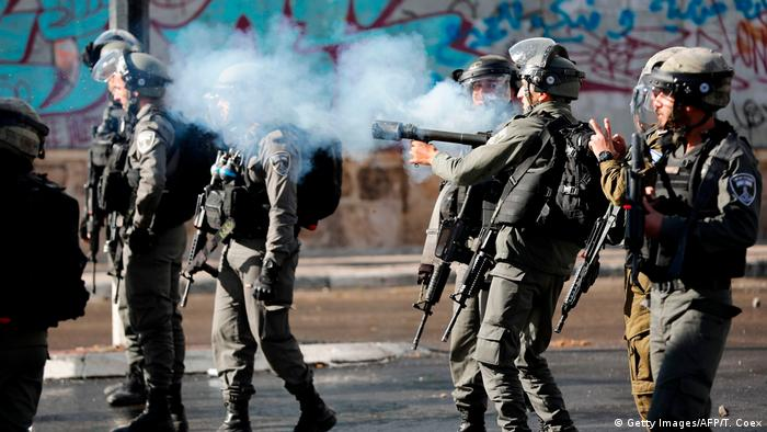 West Bank - Proteste gegen Jerusalem-Status in Bethlehem (Getty Images/AFP/T. Coex)