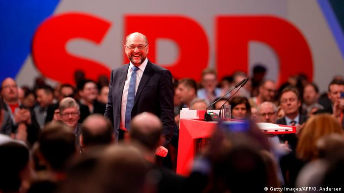SPD Parteitag in Berlin – Martin Schulz (Getty Images/AFP/O. Andersen)