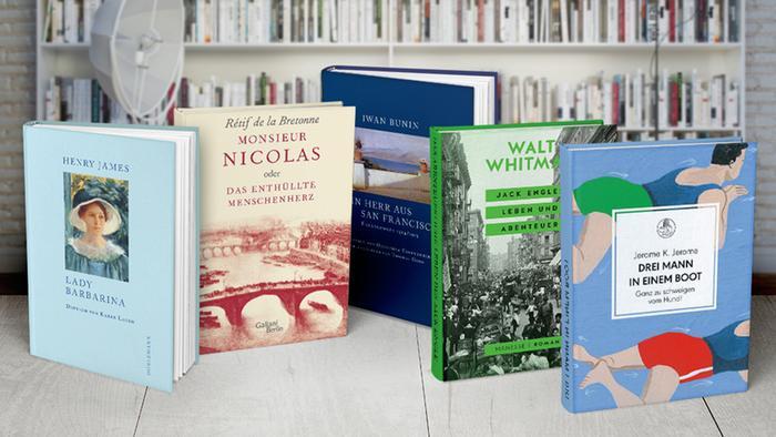 Bildergalerie 5 Bücher