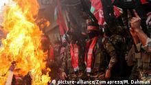 Gaza - Proteste der PFLP gegen Jerusalem-Status