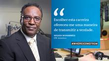 Whereicomefrom Kampagne - Portugiesisch für Afrika Schlagwort: Faces, wicf, Kampagne, Portugiesisch, Afrika Rechte: DW