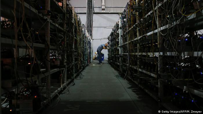 Hier werden die Bitcoin geschürft: Riesige Server-Farmen, hier in Moskau