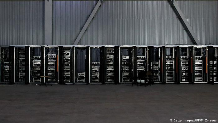 Bitcoin Mine (Getty Images/AFP/M. Zmeyev)