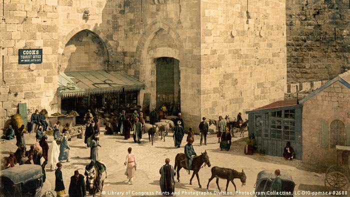 Show Welcome to Jerusalem (Library of Congress Prints and Photographs Division, Photochrom Collection, LC-DIG-ppmsca-02688
