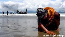 Rohingya Müslümanı kadın