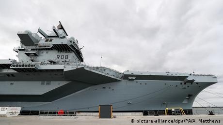 Єлизавета ІІ урочисто спустила на воду авіаносець-гігант HMS Queen Elizabeth
