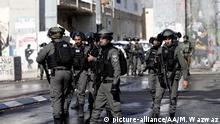 Bethlehem Proteste gegen Anerkennung USA Jerusalem Sicherheitskräfte