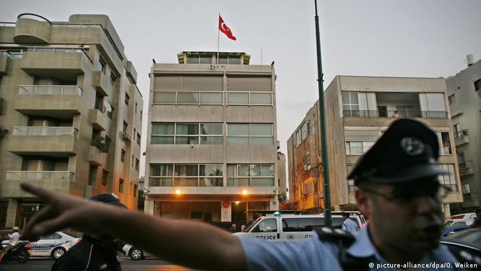 Турецкое посольств в Тель-Авиве (фото из архива)