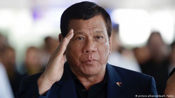 Rodrigo Duterte Präsident Philippinen (picture-alliance/dpa/A. Favila)