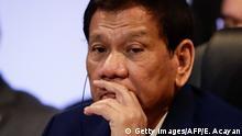 Rodrigo Duterte Präsident Philippinen