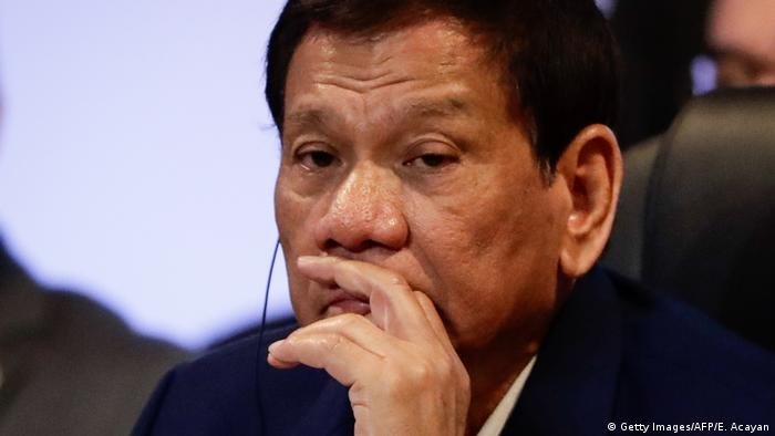 Rodrigo Duterte Präsident Philippinen (Getty Images/AFP/E. Acayan)